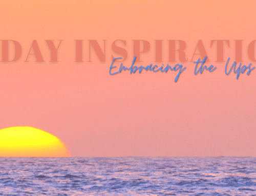 Holiday Inspiration, Embracing the Ups and Downs